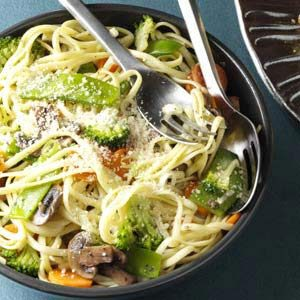 Broccoli Veggie Pasta Primavera Recipe