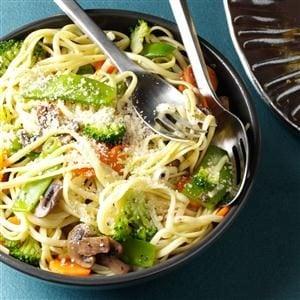 Broccoli Veggie Pasta Primavera Recipe