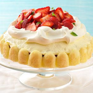 Breezy Lemon-Berry Dessert