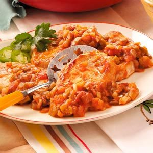 Tex-Mex Pork Chops Recipe