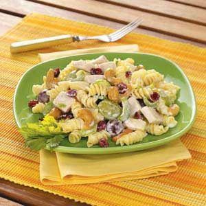 Cashew-Chicken Rotini Salad Recipe