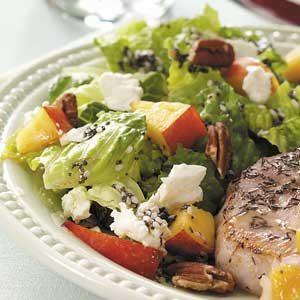 Nectarine Pecan Salad Recipe