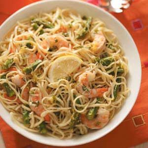 Lemon-Linguine Shrimp Salad