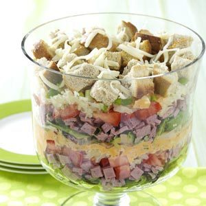 Layered Salad Reuben-Style Recipe
