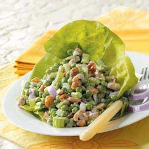 Pea 'n' Peanut Salad Recipe