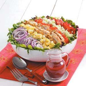 Contest-Winning Strawberry Chicken Salad Recipe