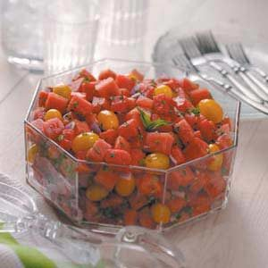 Watermelon Tomato Salad Recipe