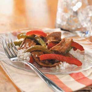 Ginger Pepper Steak Stir Fry Recipe
