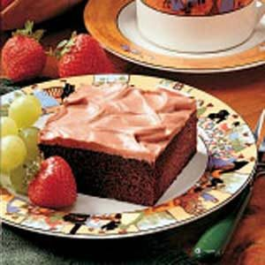 Devil's Food Sheet Cake Recipe