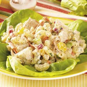 Garden Tuna Macaroni  Salad Recipe