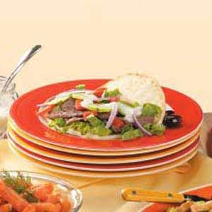 Marinated Beef Gyros Recipe