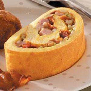 Meat Lover's Omelet Roll