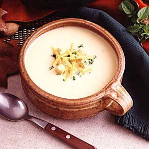 Wisconsin Potato Cheese Soup Recipe
