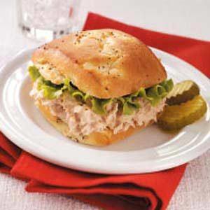 Tangy Tuna Bunwiches Recipe