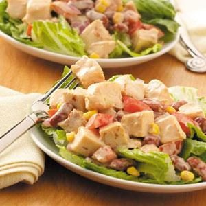 BBQ Ranch Salad Recipe