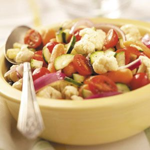 Garden Fresh Summer Vegetable Salad
