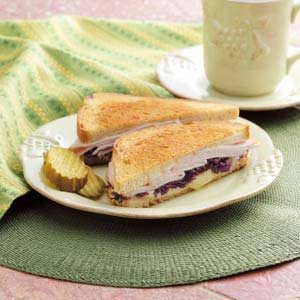 Quick Turkey Reubens Recipe