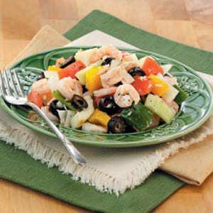 Greek Seafood Salad Recipe