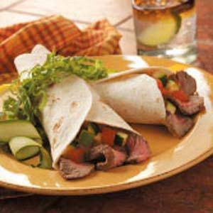 Grilled Fajitas with Pico de Gallo Recipe
