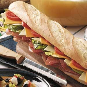 Home Run Slugger Sub Recipe