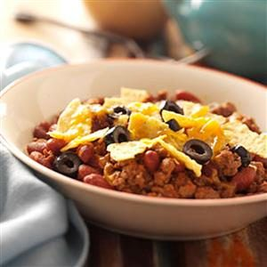 Kidney Bean Taco Bake