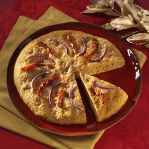 Sun-Dried Tomato Focaccia Recipe