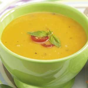 Basil Tomato Soup for 2 Recipe