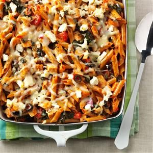 Contest-Winning Greek Pasta Bake Recipe
