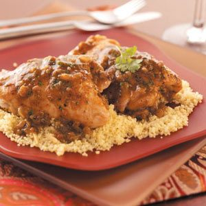 Moroccan Chicken Thighs