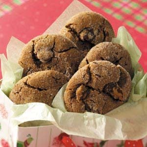 Chocolate Gingersnaps Recipe