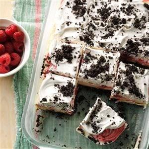 Raspberry Ice Cream Delight Recipe