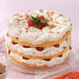 Meringue Torte Recipe
