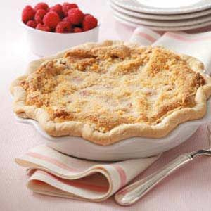Raspberry Custard Pie Recipe photo by Taste of Home
