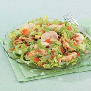 Salad with Grilled Chicken Recipe