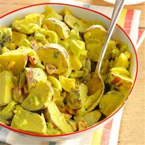 Honey-Mustard Potato Salad Recipe