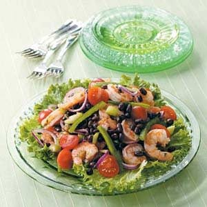Black Bean Shrimp Salad Recipe