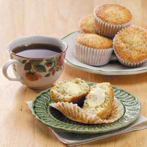 Sour Cream Poppy Seed Muffins Recipe