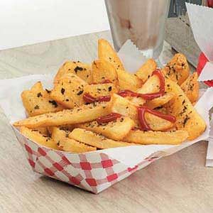 Herbed Steak Fries Recipe