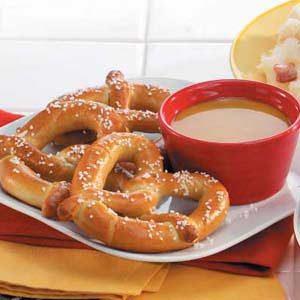 Pretzels with Mustard Recipe