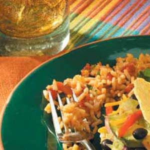 Spanish Rice with Cilantro Recipe