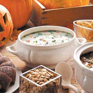 Creamy Chicken 'n' Wild Rice Soup Recipe