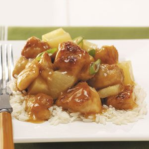 Favorite Sweet-and-Sour Chicken Recipe