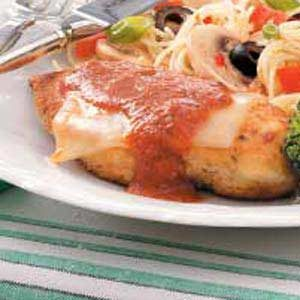 Cheesy Chicken Parmigiana Recipe