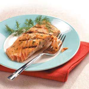 Dilly Salmon Recipe
