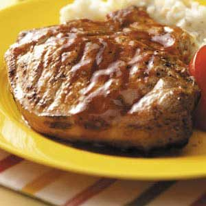 Baked Barbecue Pork Chops Recipe
