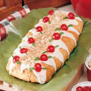 Cherry Almond Braid Recipe