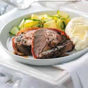 Crab-Stuffed Beef Tenderloin Recipe