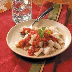 Homemade Potato Gnocchi Recipe