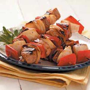 Asian Pork Kabobs Recipe