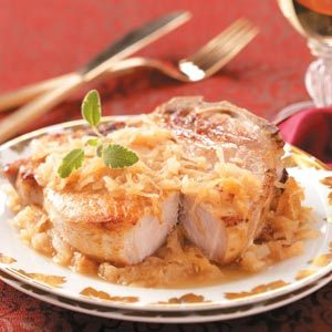 German Pork Chops Recipe